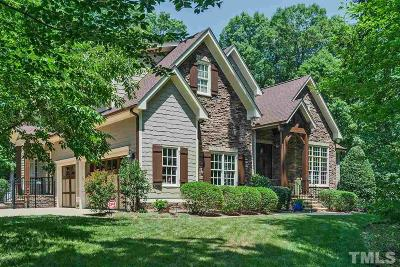 Chapel Hill Single Family Home Contingent: 178 Windfall Creek Drive