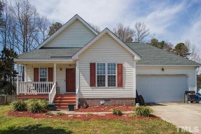 Raleigh Single Family Home Contingent: 4313 Pillory Place