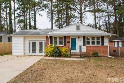 Wake County Single Family Home For Sale: 2115 Bellaire Avenue
