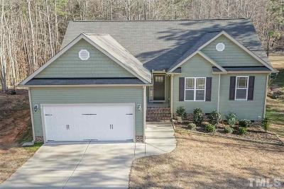Franklinton Single Family Home Contingent: 25 S Stonewood Drive