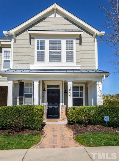 Cary Townhouse Contingent: 1014 Freeport Drive
