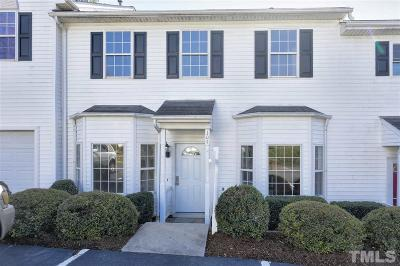 Cary Townhouse Contingent: 104 Pointe Crest Court