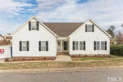 Raleigh Single Family Home Contingent: 4420 Major Loring Way