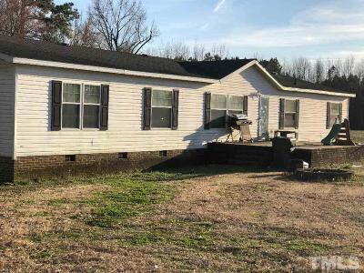 Zebulon Manufactured Home For Sale: 12913 W Nc 97 Highway