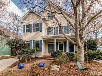 Carrboro Single Family Home For Sale: 243 Stable Road