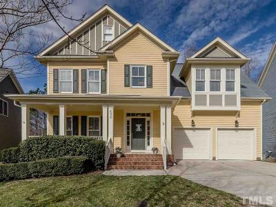 Holly Springs Single Family Home Contingent: 424 Edgepine Drive