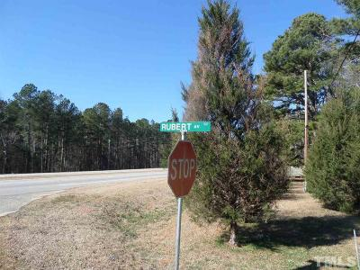 Johnston County Residential Lots & Land For Sale: Rubert Avenue