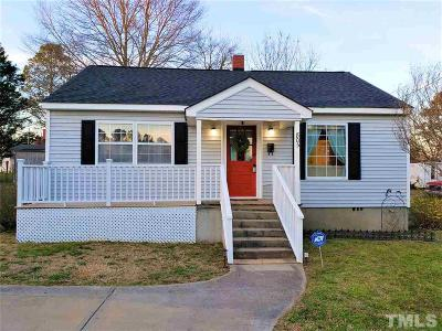 Franklinton Single Family Home Contingent: 805 E Green Street