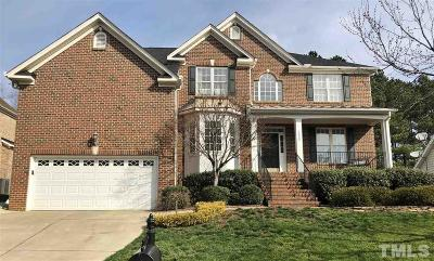 Wakefield Single Family Home Contingent: 2805 Crystal Oaks Lane
