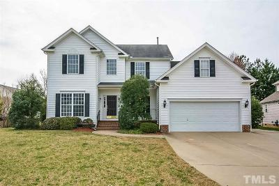 Cary Single Family Home Pending: 1019 Augustine Trail