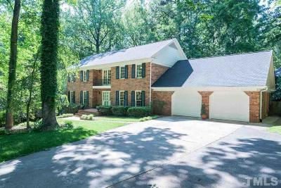 Raleigh Single Family Home For Sale: 4417 Keswick Drive