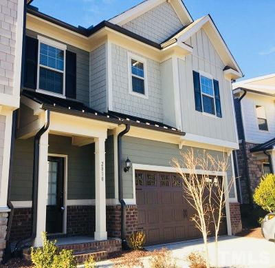 Apex Townhouse For Sale: 2810 Crowders Ridge Lane