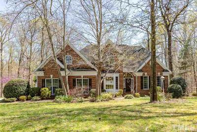 Holly Springs Single Family Home Contingent: 201 Sunset Grove Drive