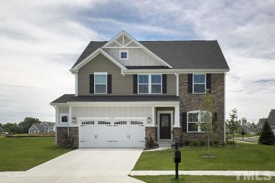 Holly Springs Single Family Home For Sale: 124 Ashland Hill Drive