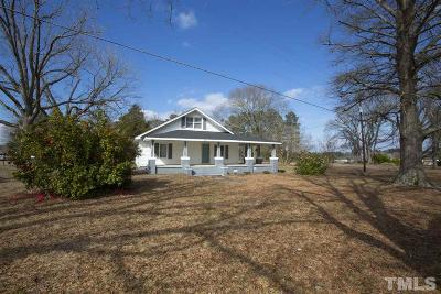 Single Family Home For Sale: 1143 James Norris Road
