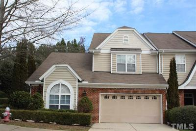 Chapel Hill Townhouse For Sale: 208 Chateau Place