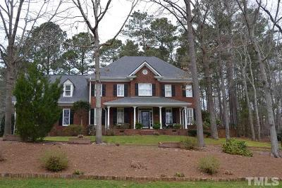 Cary Single Family Home Pending: 101 Loch Stone Lane