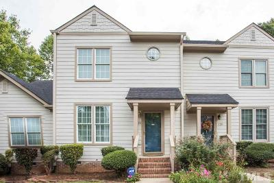 Cary Townhouse For Sale: 130 Windward Court