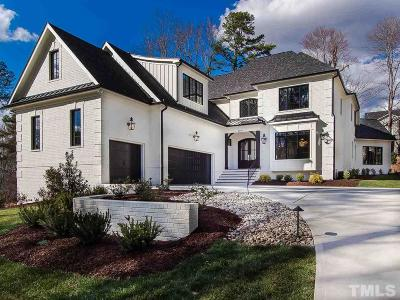 Raleigh Single Family Home Contingent: 3210 Cobblestone Court