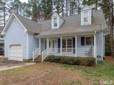 Single Family Home For Sale: 106 Silver Fox Court