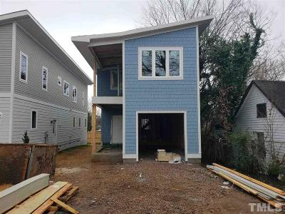 Single Family Home For Sale: 1206 Boyer Street