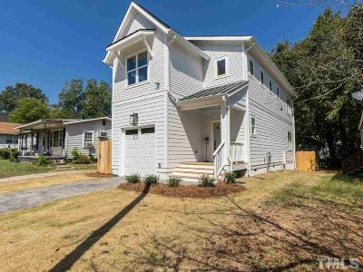 Raleigh Single Family Home For Sale: 1507 Joe Louis Avenue