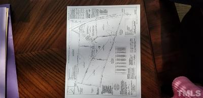 Creedmoor NC Residential Lots & Land Contingent: $90,000