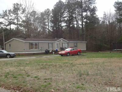 Wake Forest Manufactured Home For Sale: 16104 New Light Road