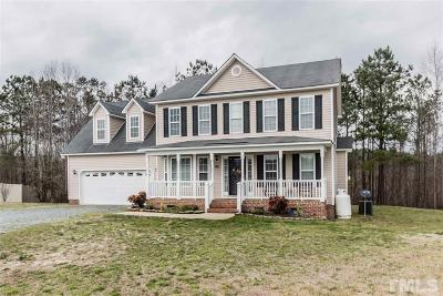 Johnston County Single Family Home For Sale: 165 Bonfire Court
