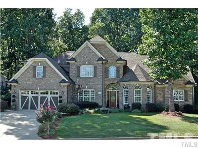 Fuquay Varina Single Family Home Contingent: 305 Harrison Place Lane North