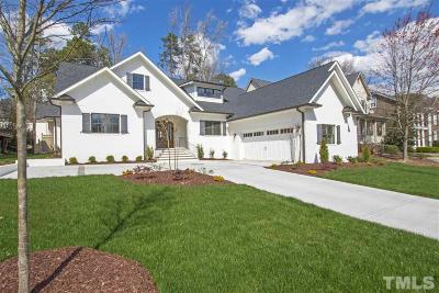 Raleigh Single Family Home For Sale: 118 Lake Boone Trail