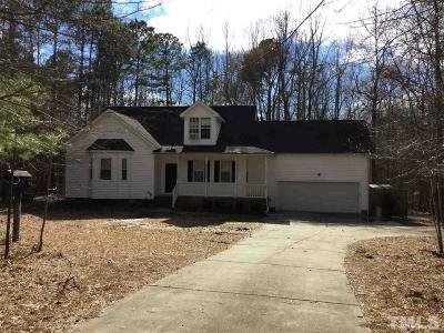 Youngsville Single Family Home For Sale: 589 John Mitchell Road
