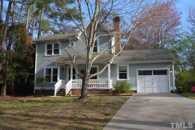 Chapel Hill Single Family Home Contingent: 101 Wrenn Place