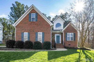Wake Forest Single Family Home Contingent: 2908 Dargan Hills Drive