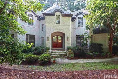 Wake Forest Single Family Home Contingent: 7701 Benthill Court