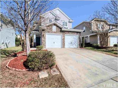 Cary Single Family Home Contingent: 705 Delta Downs Drive