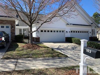 Cary Townhouse Pending: 103 Uplands Creek Drive