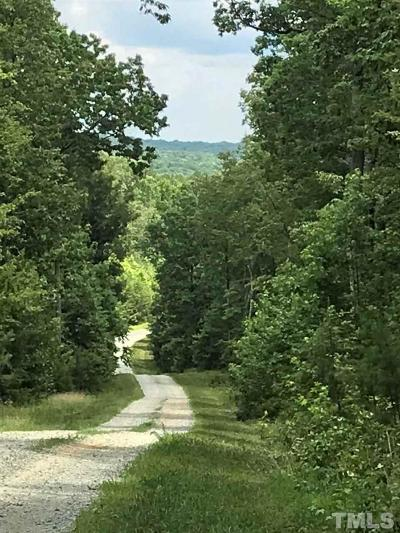 Rougemont Residential Lots & Land For Sale: 580 Crabtree Glenn Road