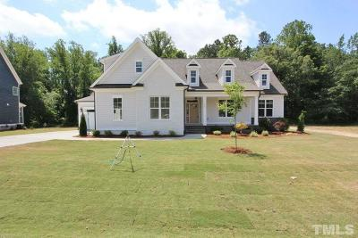 Fuquay Varina Single Family Home For Sale: 4191 Olde Judd Drive