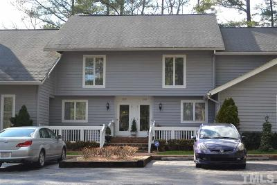 Townhouse For Sale: 2535 Fairway Drive