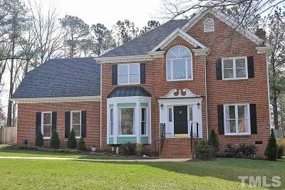 Cary Single Family Home For Sale: 201 Steep Bank Drive