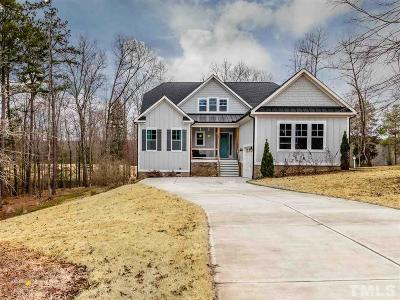Pittsboro Single Family Home For Sale: 255 Cabin Creek Drive