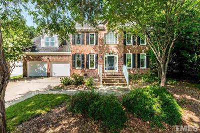 Apex Single Family Home Contingent: 1605 Squaw Walden Lane