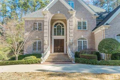 Raleigh Single Family Home For Sale: 4932 Cremshaw Court