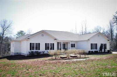 Pittsboro NC Single Family Home For Sale: $470,000