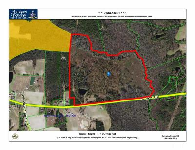 Johnston County Residential Lots & Land For Sale: 17930 Nc 210