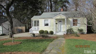 Single Family Home Contingent: 619 Glascock Street