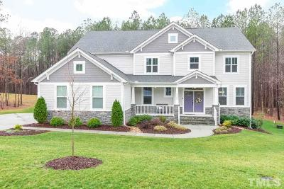 Wake Forest Single Family Home For Sale: 2500 Snyder Lane