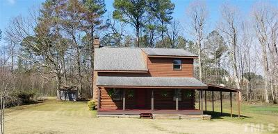 Youngsville Single Family Home Pending: 105 Robin Lane