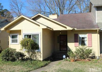 Raleigh Townhouse Pending: 4405 Roller Court